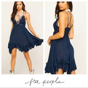 NWT Free People $88 FP One Adella Lace Slip Dress